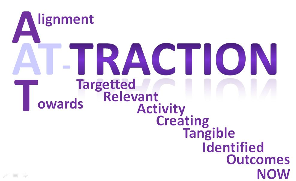 Focus coaching: from activity to action to traction to attraction