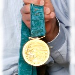 Gold Medal closeup